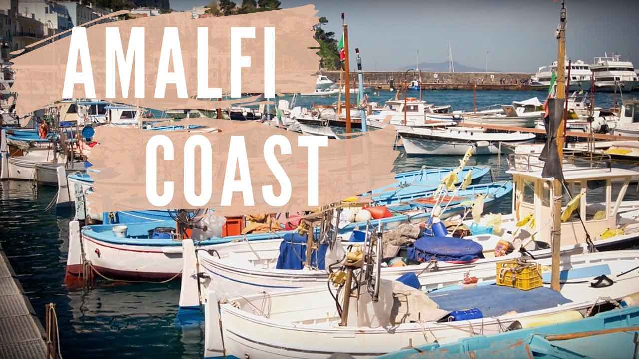 3 Perfect Days on the Amalfi Coast